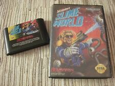 SEGA MEGADRIVE/GENESIS TODDS ADVENTURE IN SLIME WORLD NTSC AMERICANO USADO