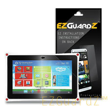 2X EZguardz Clear Screen Protector Shield Skin 2X For FUHU Nabi XD 10.1""
