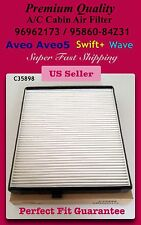 Aveo Aveo5 / Wave / Swift+ Premium OEM Quality Cabin Air Filter C35898 Fast Ship