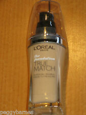 L'OREAL THE FOUNDATION TRUE MATCH SUPER BLENDABLE SHADE D7-W7 GOLDEN AMBER 30ml