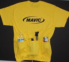 MAVIC TEAM CYCLING CYCLE TEE JERSEY W/POCKETS CYCLE-T 4 COLORS AVAILABLE ***