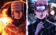 Poster A3 Naruto Shippuden Uzumaki Naruto Uchiha Sasuke 04