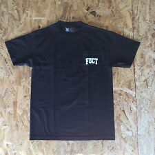 FUCT Academy Pocket T Shirt Black Large NIB