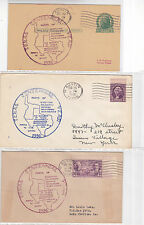 "#776 Austin TEXAS Centennial 3 Covers 12/29/1936 OFFICIAL ""Added to the Union"" !"