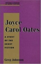 Joyce Carol Oates: A Study of the Short Fiction (Twayne's Studies in S-ExLibrary