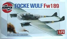 Airfix German Focke Wulf FW-189 WWII Air Plane 1993 Model Kit 1:72. Series 3