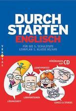 Durchstarten Englisch: Durchstarten in Englisch. Für die 5. Schulstufe. Mit CD.