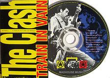 CLASH CD Train In Vain 4 Track EP The Right Profile / Train '91 / Death PIC DISC