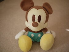 "14-15"" Pastel Color Plush Mickey Mouse - RARE"