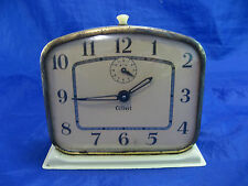 Vintage Gilbert Metal Clock Alarm Parts Or Restoration