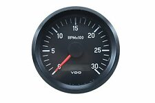 "VDO Cockpit International Tachometer LCD Gauge 12/24V 80mm 3.1"" 333-035-010"