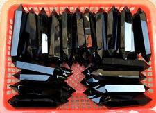 1LB Obsidian Double Terminated point~ for jewelry making or crystal grid ~7-10PC