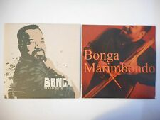 Unique Lot de 2 CD Single ▬ BONGA ▬ Port GRATUIT
