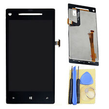 Black LCD Touch Screen Digitizer Assembly for HTC Windows Phone 8X + Tools