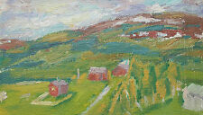 Vintage Impressionist Oil Painting - Unsigned - Framed - Canada - Mid 20th C.