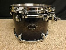 "Tama Starclassic Birch/Bubinga 12"" Mounted Tom/Indigo Burl Burst/Display Model"