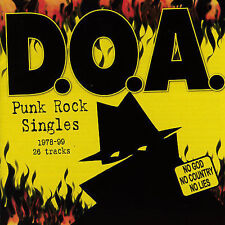 Punk Rock Singles 1978-99 by D.O.A. (CD, Apr-2007, Sudden Death)