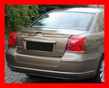 TOYOTA AVENSIS 2 II T25 SALOON - REAR BOOT SPOILER - TUNING-GT