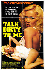 "Talk Dirty to Me Movie Poster  Replica 13x19"" Photo Print"