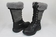 Ugg Australia Womens Adirondack Tall Black Color Winter Snow Boot Size 9 US