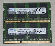 Samsung 16GB (2X8GB) PC3L-12800 DDR3L 1600MHz SODIMM LAPTOP MEMORY