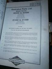 Briggs & Stratton moteur 200401 à 200466 : parts list 16