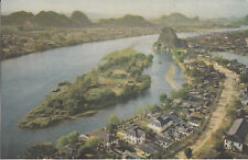 Postcard - The Lichiang River / Kwangsi Province (China)