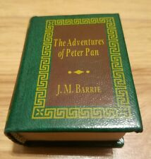 The Adventures of Peter Pan Del Prado Miniature Book Doll House J.M. Barrie