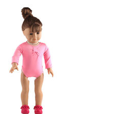 pink model clothes Swimwear for 18inch American girl doll summer b443