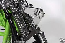 Knucklehead Chrome Scissor Springer Fork Steering Damper  **NEW**