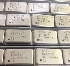 X25 ** NUOVO ** act1100 OSCILLATORE a cristallo 36.00 MHz 4 PIN FORO PASSANTE
