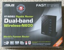 ASUS RT-N56U Wireless Router Dual Band N600 Multimedia Ultra Slim Gigabit