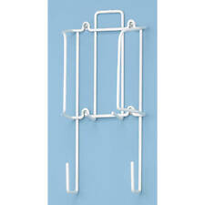 Whitmor 6023-5852 4 x 19.6 White Wire Over The Door Ironing Board Holder