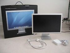 "APPLE MAC CINEMA DISPLAY MONITOR A1081 20"" 60GHZ 1680X1050 WIDESCREEN *24HR DEL"