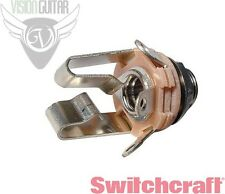 "NEW! Switchcraft 12B STEREO TRS 1/4"" INPUT or Output Jack"