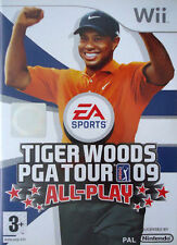 Tiger Woods PGA Tour 09: All-Play (Nintendo Wii, 2008) - PAL UK **NEW & SEALED**