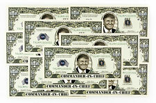 10 Donald Trump Commander-in-Chief USA fantasy paper money 2016
