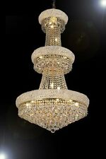 "French Empire Crystal Chandelier Chandeliers H50"" X W30"""