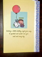"Blue Mountain Arts Greeting Card ""Sending a Little Birthday Angel.."" - B2GO SALE"