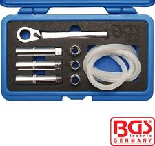 BGS Tools 8-piece Brake Bleeder Wrench Set 66512