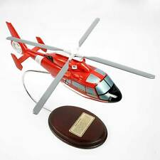 Eurocopter HH-65A Dolphin Helicopter  - Hand-Carved 1/38 Scale - Display ready