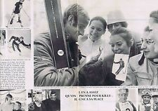 COUPURE DE PRESSE CLIPPING 1968 JEAN-CLAUDE KILLY & JEAN-PIERRE AUGERT (2 pages)