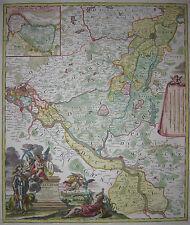 Tipo geographicus ducat. lauenburgici-sue Burg-J.B. Homann - 1729