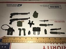 Military Uniform Weapons Accessories for 1/6 Scale For Action Figure GI Joe Lot