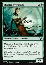 MTG Magic C15 - Viridian Shaman/Shamane viridiane, French/VF