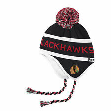 Chicago Blackhawks 2017  Winter Classic Tassel Knit Hat