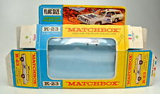 Kingsize K-23A Mercury Police Car leere Box