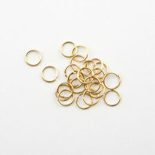 50 - 14K Gold Filled 6mm Jump Rings 22 gauge Open, Made in USA