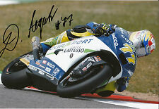 Dominique Aegerter Hand Signed Technomag carXpert Suter 12x8 Photo 2014 Moto2 10