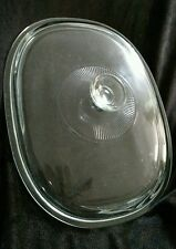 PYREX Glass Replacement Lid top DC1.5C fits Corning Ware Oval French Casserole